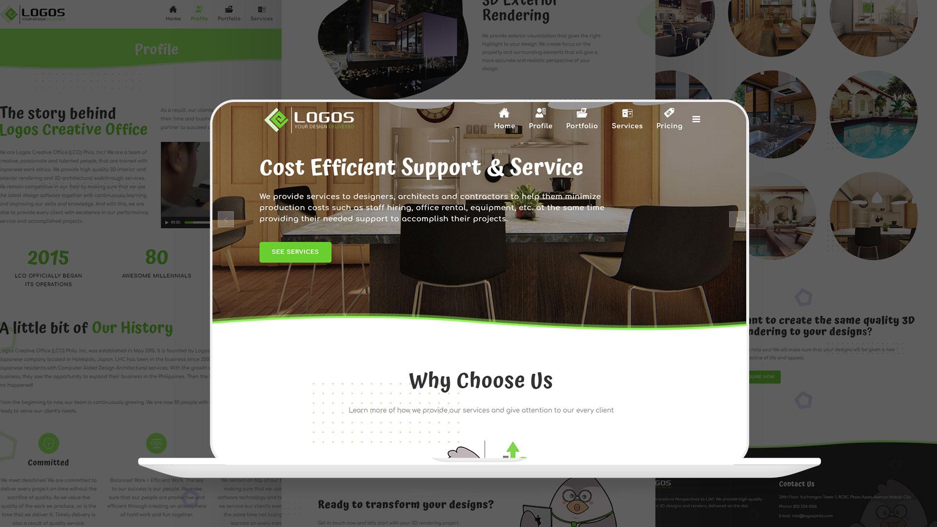 Logos Creative Website
